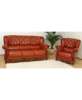 Комплект мягкой мебели Шик Галичина Консул 3+1