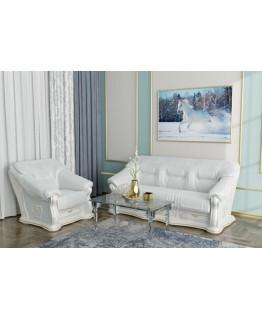 Комплект мягкой мебели Шик Галичина Лорд 3+1 (кожа)