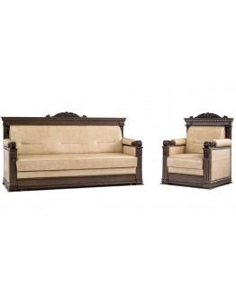 Комплект мягкой мебели Мебус Лемберг 3+1+1