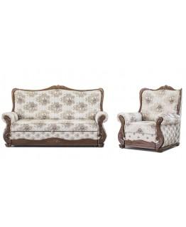 Комплект мягкой мебели Мебус Грация 3+1+1