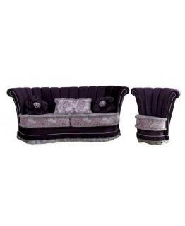 Комплект мягкой мебели Шик Галичина Лили 3+1