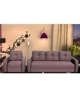 Кресло Soft Неаполь с накладками