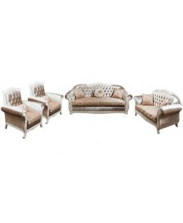 Комплект мягкой мебели Лотос–М Бейза 3+2+1+1