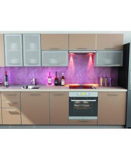 Кухня модульная СМ Капучино (2600x600x2132)
