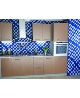Кухня модульная СМ Капучино (2600x600x2132) 1