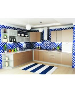 Кухня модульная СМ Капучино (2700x2600x2132)