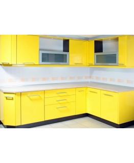 Кухня СМ Калабрия желтый глянцевый