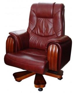 Кресло руководителя Диал Арес (кожа)