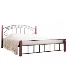 Кровать Металл-Дизайн Афина деревянные ножки