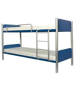 Двухъярусная кровать Металл-Дизайн Арлекино 0,8