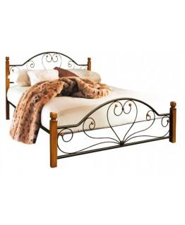 Кровать Металл-Дизайн Джоконда деревянные ножки