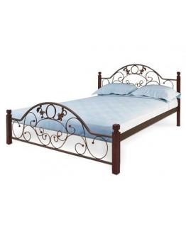 Кровать Металл-Дизайн Франческа деревянные ножки