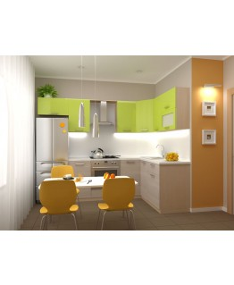 Кухня модульная СМ Киви (1600x1400x2132)