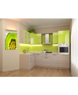 Кухня модульная СМ Киви (2000X1400X2132)