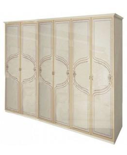 Шкаф 6-ти дверный МироМарк Мартина без зеркал