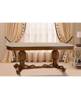 Стол МИКС-мебель Барон 2.0 (орех)