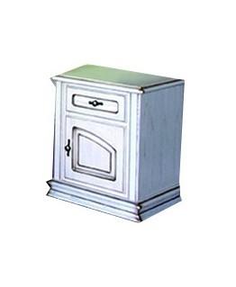 Тумба прикроватная ЮрВит Роксолана с ящиком и дверкой