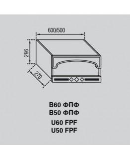 Кухонный модуль Свит меблив Валенсия В 50ФПФ