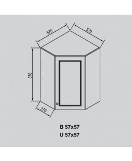Кухонный модуль Свит меблив Валенсия В 57×57