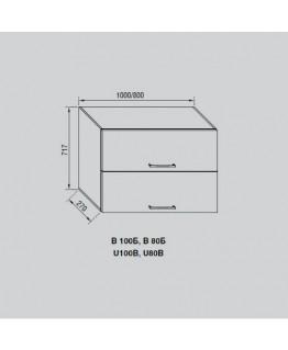 Кухонный модуль Свит меблив Адель В 100Б