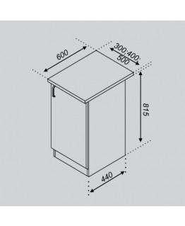 Кухонный модуль Свит меблив Оля Н 30