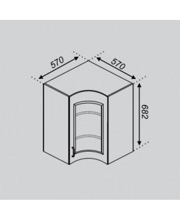 Кухонный модуль Світ меблів Оля Р 57×57Ск
