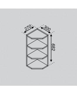 Кухонный модуль Світ меблів Оля В 30КЗ