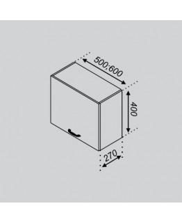 Кухонный модуль Світ меблів Тюльпан 50 ОКАП
