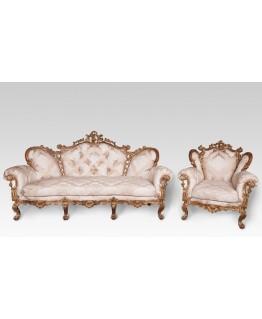 Комплект мягкой мебели Курьер Изабелла 3+1+1