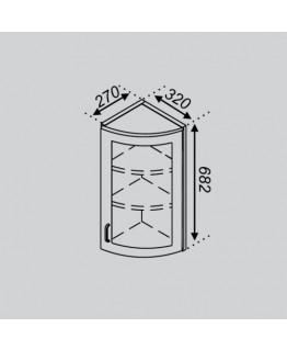 Кухонный модуль Світ меблів Тюльпан В 32КЗЗ Ск