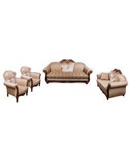 Комплект мягкой мебели Лотос–М Султан Новый (3+2+1+1)