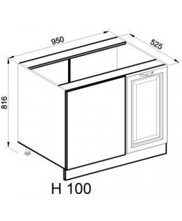 Кухонный модуль Світ меблів Роксана Н 100