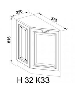 Кухонный модуль Свит меблив Роксана Н 32 КЗЗ