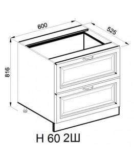 Кухонный модуль Світ меблів Роксана Н 60 2Ш