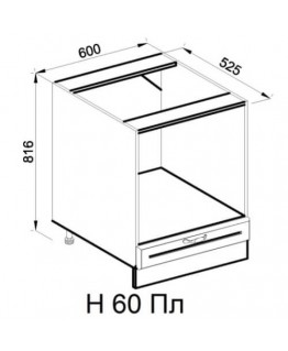 Кухонный модуль Світ меблів Роксана Н 60 Пл