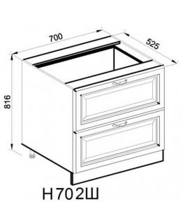 Кухонный модуль Світ меблів Роксана Н 70 2Ш
