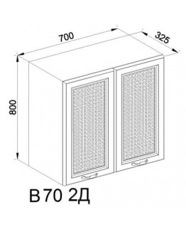Кухонный модуль Свит меблив Роксана В 70 2Д