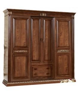 Шкаф 4-х дверный СВ София Марсель (без зеркал)