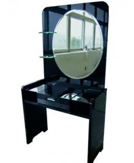 Туалетный столик СВ София Черный бриллиант с зеркалом