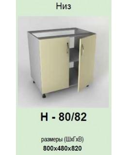 Кухонный модуль Garant Платинум Н-80/82
