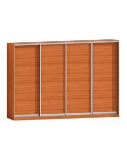 Шкаф-купе 4-х дверный Комфорт мебель Софт Ф-5233
