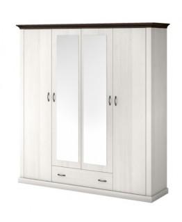Шкаф ВМВ Лавенда 4D1S (с зеркалами)
