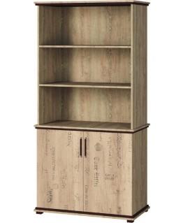 Шкаф книжный Свит меблив Палермо 1