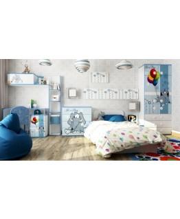 Детская кровать Luxe Studio Elephant с бортиком