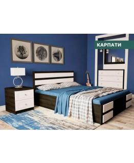 Кровать Світ меблів Карпаты 1,6