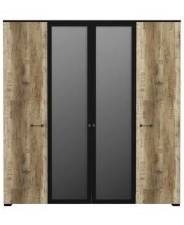 Шкаф 4-х дверный Висент Соломон СО 10