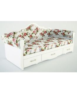 Детская кровать Ренессанс Прованс К 4-2/2000х900 с накладками