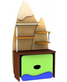 Детский пенал Ренессанс Малые горы (стеллаж)