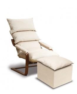 Кресло - качалка SuperComfort Стандарт с пуфом