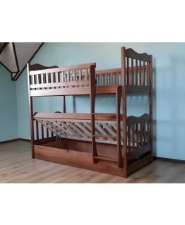 Двухъярусная кровать Дримка Рукавичка 0,9 (пм)